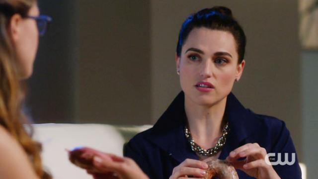 Lena listens to Kara