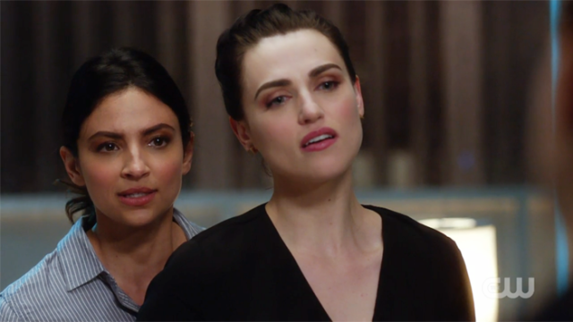 Maggie cuffs Lena and tells Kara to stay out of it