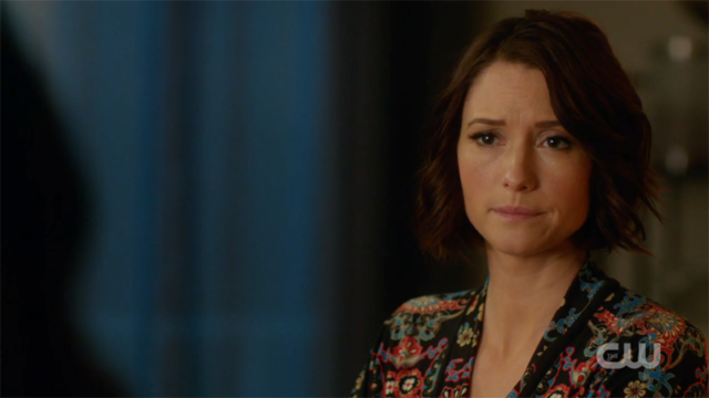 Alex looks worried about Maggie