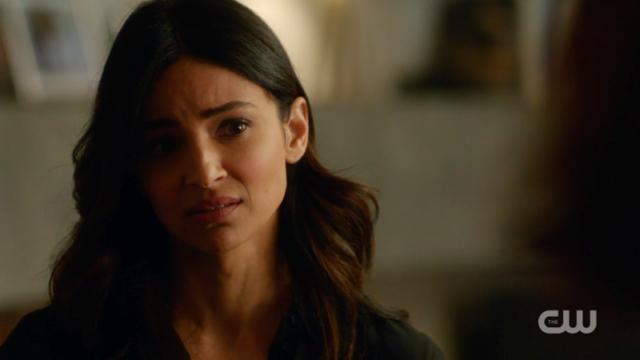Maggie looks painfully sad