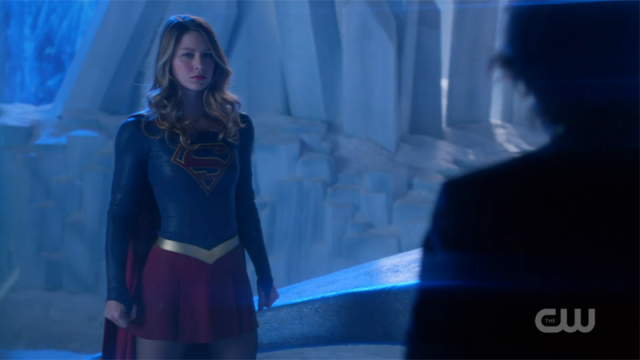 Supergirl stands strong against mxy