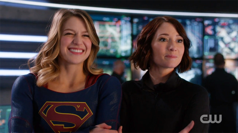 Image result for supergirl cw kara and alex