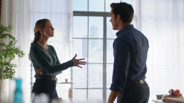 Kara scolds Mon-El again