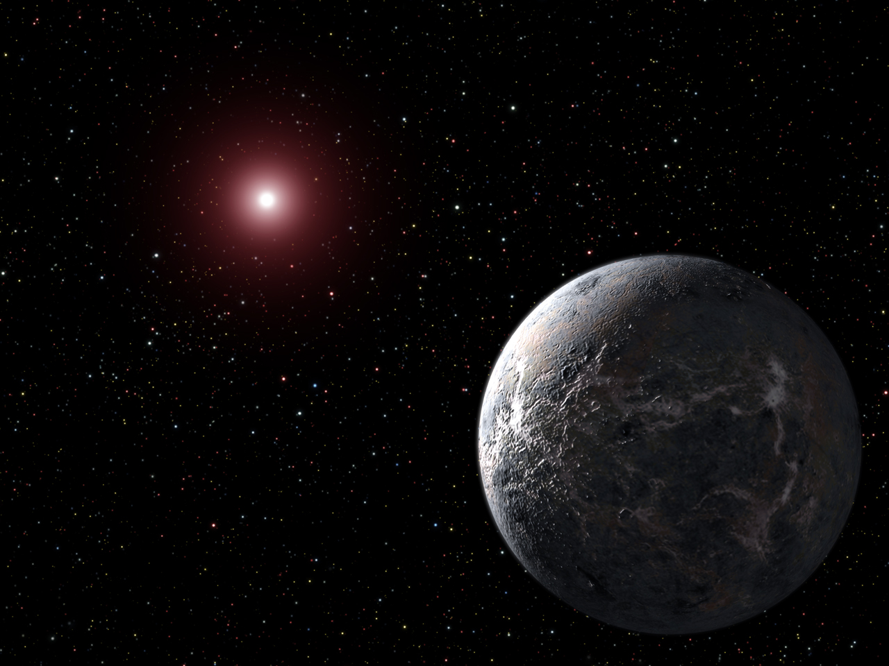 planet far from a star