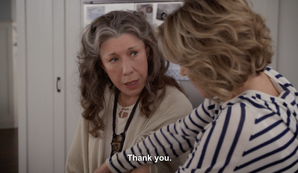 grace and frankie acted gayer than their gay ex husbands in season 3 am i right ladies. Black Bedroom Furniture Sets. Home Design Ideas