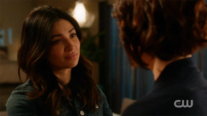 Maggie tells Alex she's her ride or die.