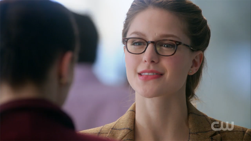 Kara BITES HER LIP at Lena. BITES IT.