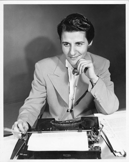 Angela Calomiris Typewriter