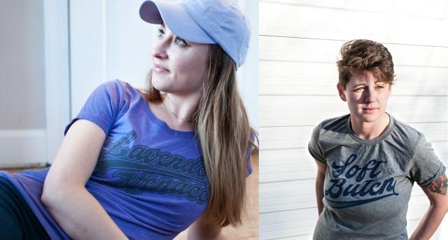 Erin in Lavender Menace / Sarah in Soft Butch