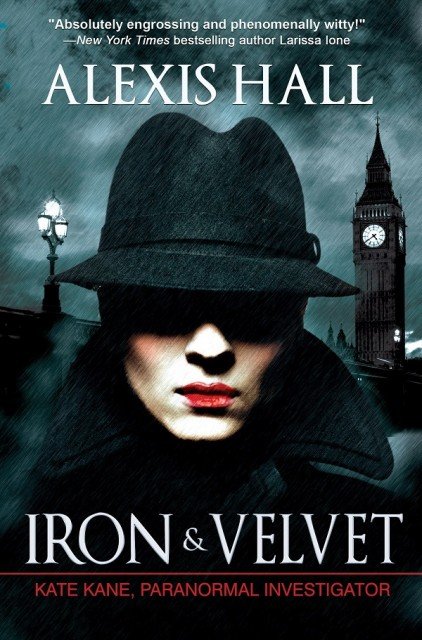 iron and velvet cover