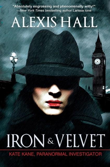 iron and velvet cover