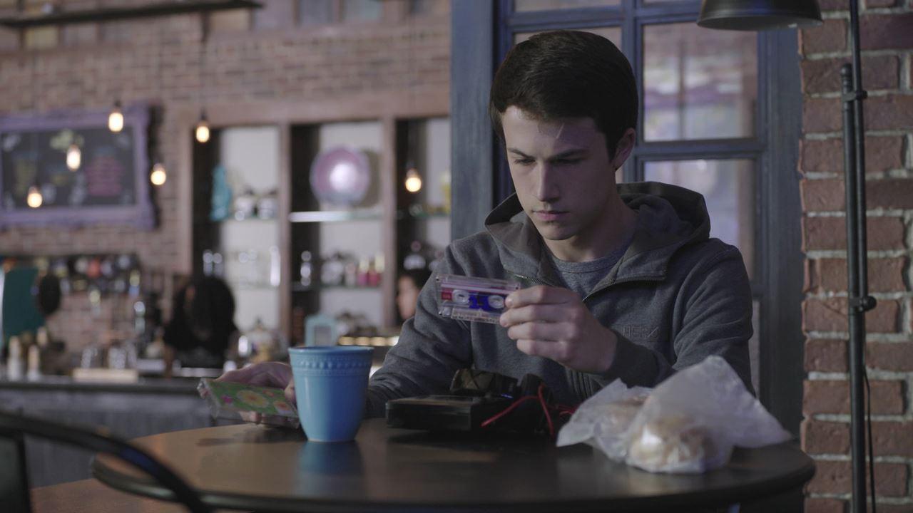 Movie clips below white teens