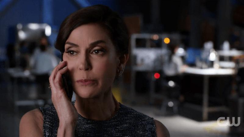 Rhea threatens Kara over the phone