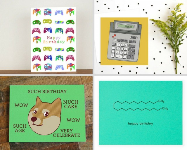 Relevant To Your Interests The Nerdiest Birthday Cards I Could Find