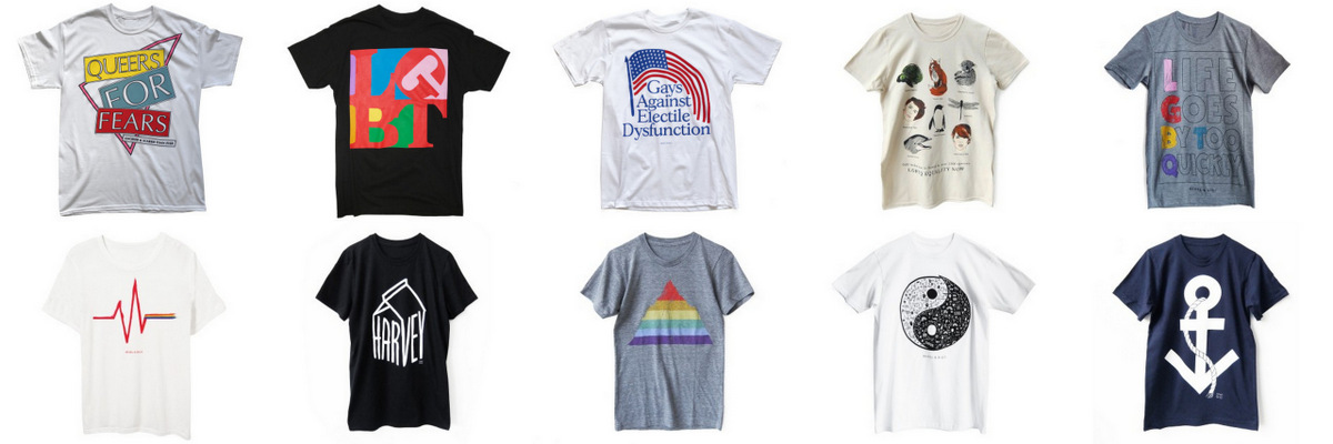 Support gay rights merchandise