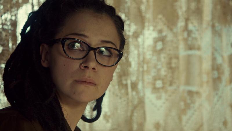 Cosima looks VERY SAD as Delphine leaves. Like. VERY SAD.