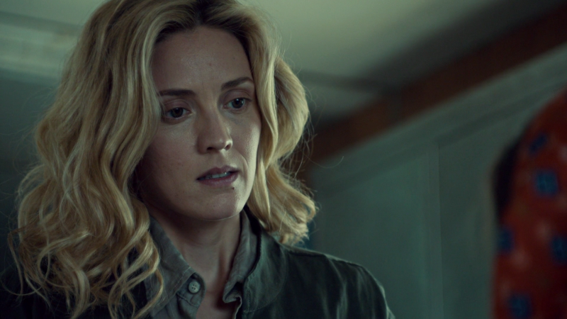 Delphine looks so so sad about how much hope this family has