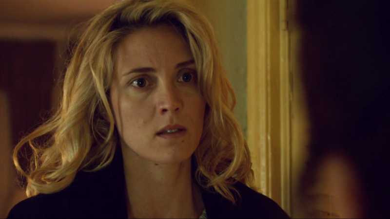 Delphine looks at Mrs. S like she's stressed and needs help and maybe a hug and some whiskey