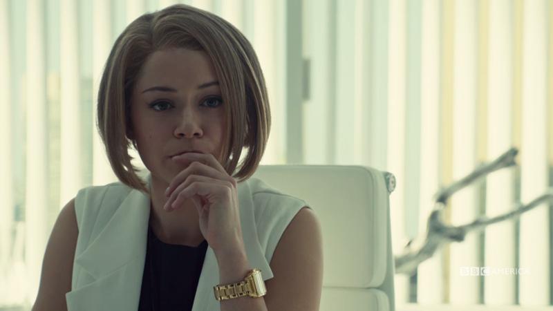 Rachel looks contemplative