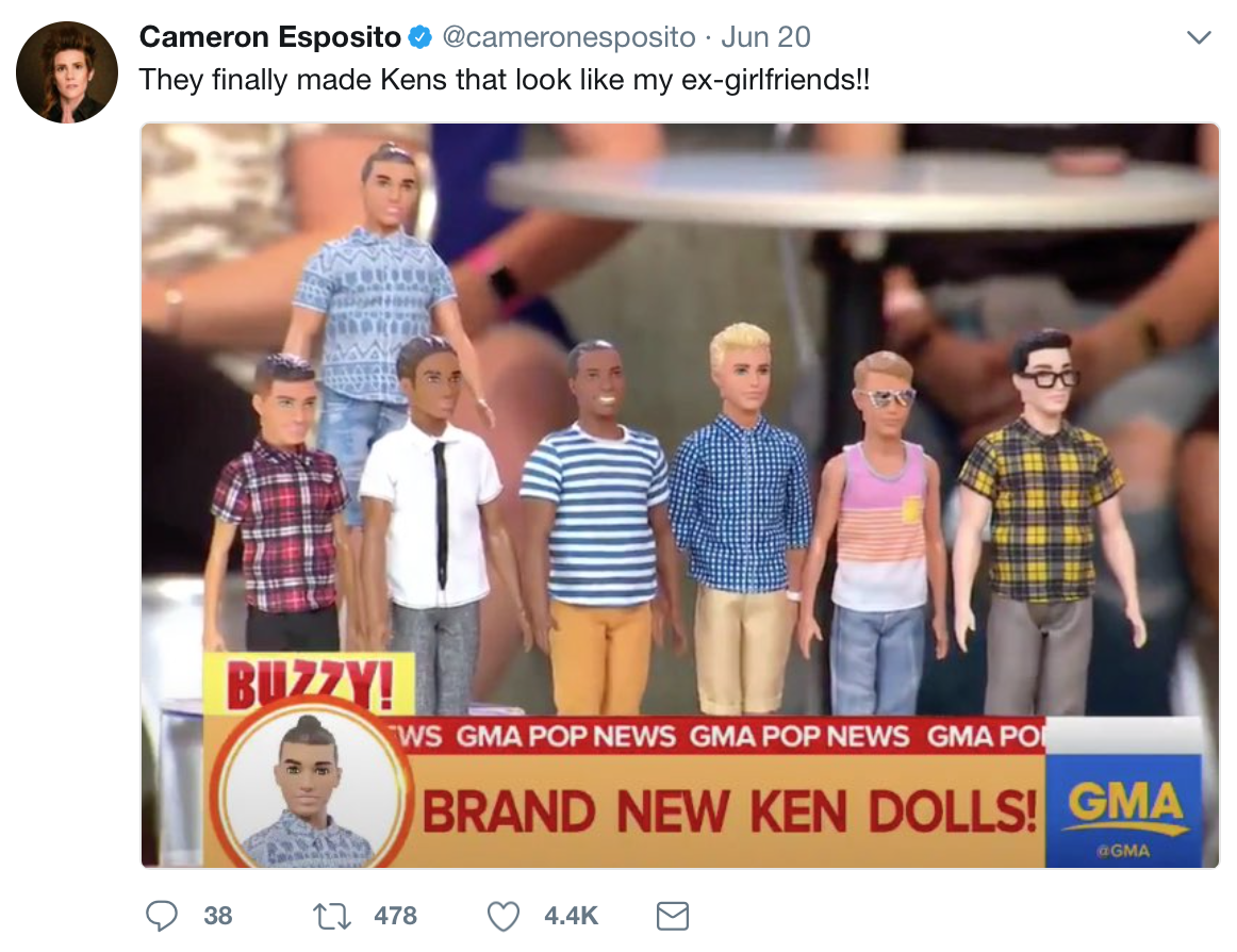 75 Lesbian Ken Dolls, Ranked By Lesbianism | Autostraddle