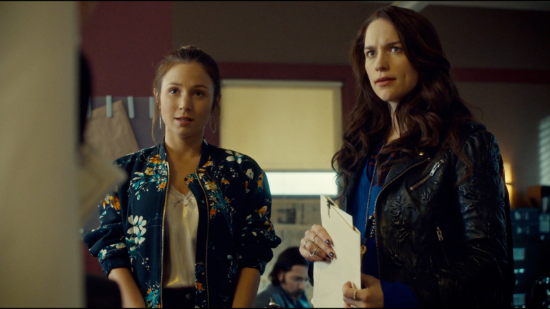 Waverly and Wynonna look affronted