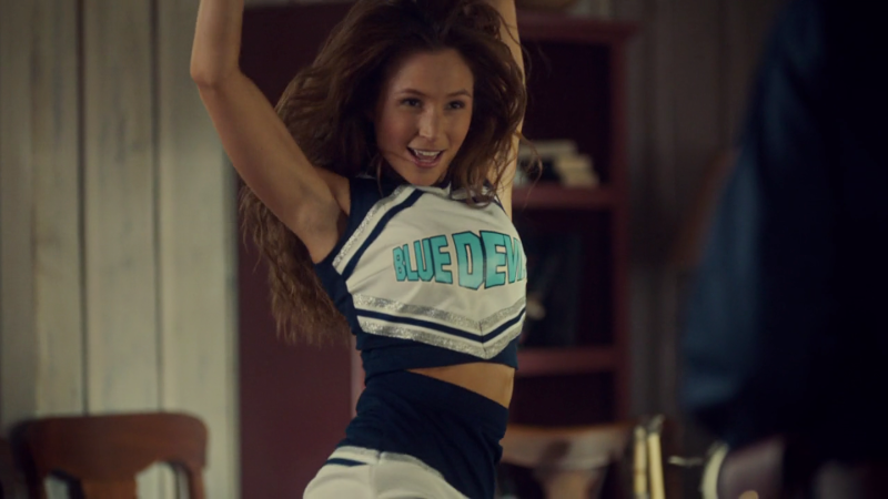Waverly is mid-cheerleading-bounce and it is glorious
