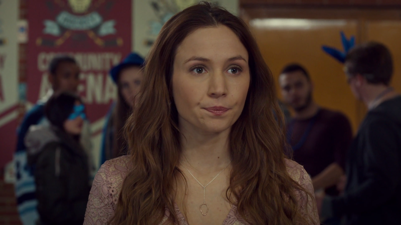Waverly looks worried about her girl