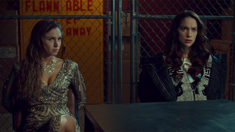 Waverly and Wynonna are tied to chairs