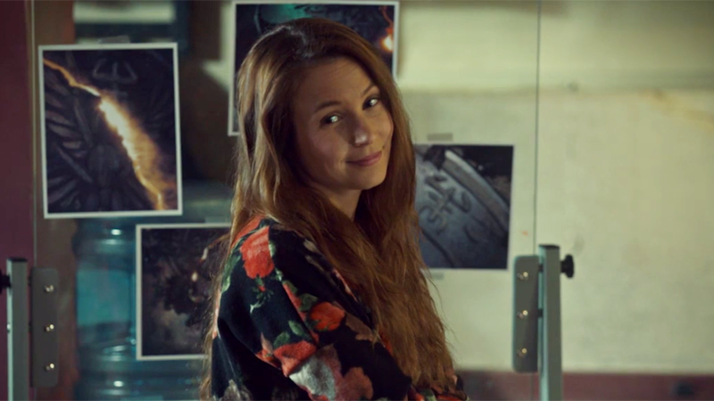 Waverly gives a clever little smirk because she's the smartest witch of her age