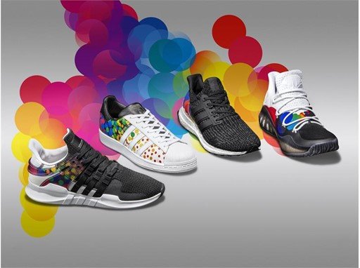 1d8bb2d210ed Adidas has a limited collection of pride-colored shoes