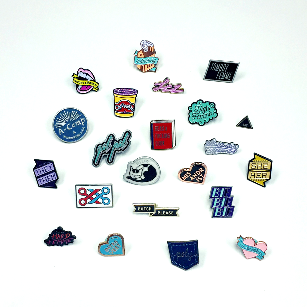 Entire Pin Collection for Autostraddle