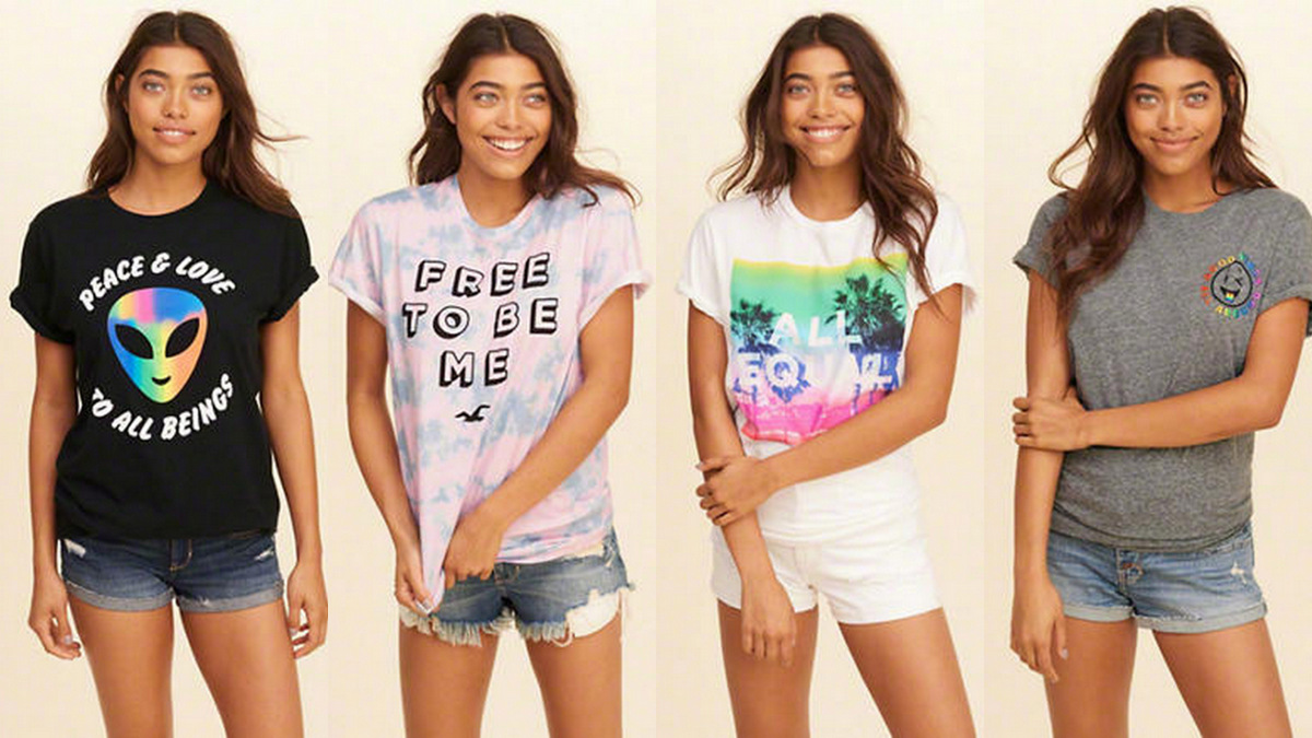 e6d000f81c97 Hollister s partnership with GLSEN stands out for its relatively original  t-shirt designs and clear