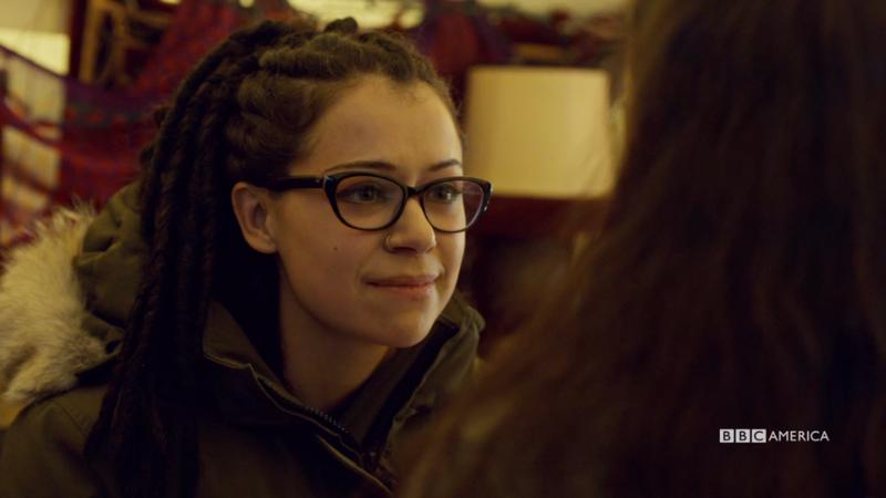 Cosima smirks at Aisha