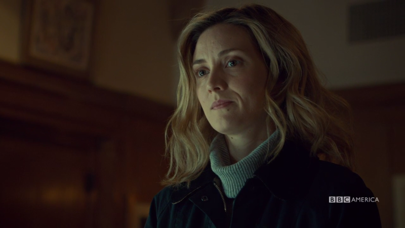 Delphine looks fly af and Rachel is just jealous