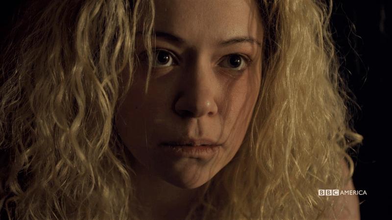 Helena looks like a sad, angry angel