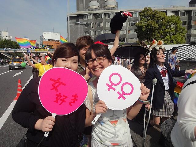 Tokyo Rainbow Pride 2012 by Lauren Anderson