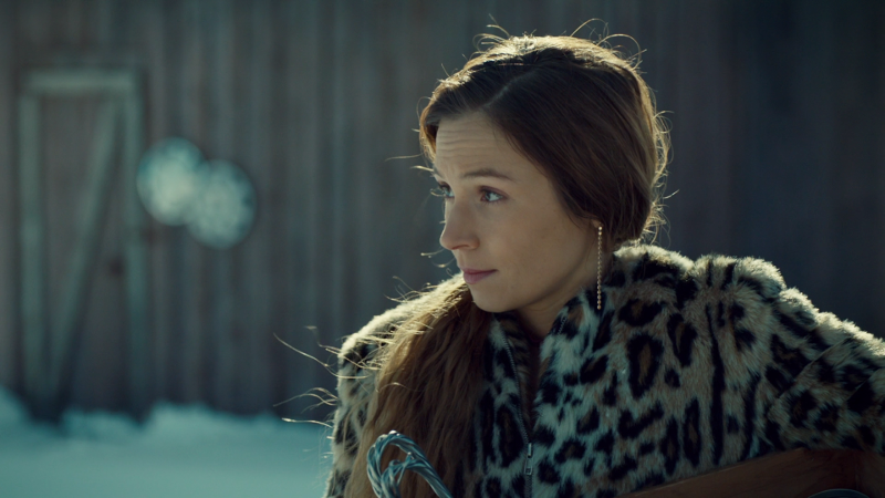 Waverly gives Wynonna a knowing look