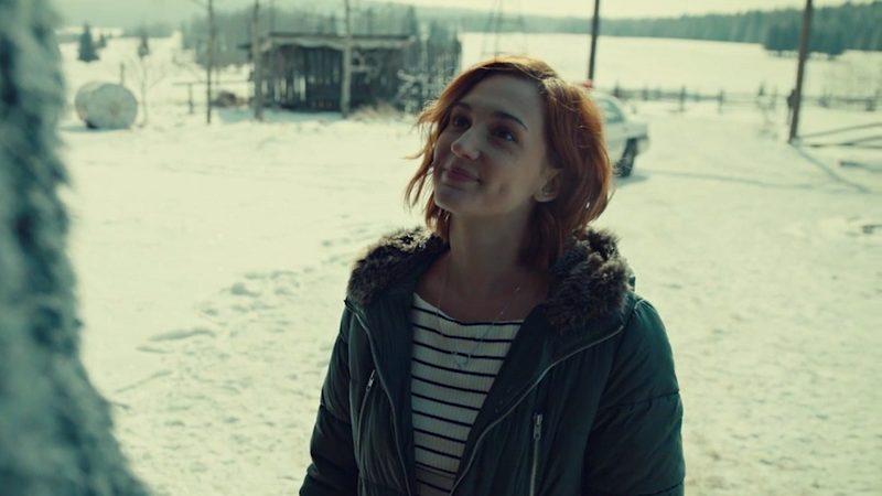 Nicole smiles up at Wynonna, knowing she'll hate that she's here