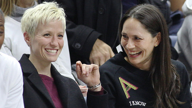 WNBA star Sue Bird comes out as gay, dating USWNT's Megan Rapinoe