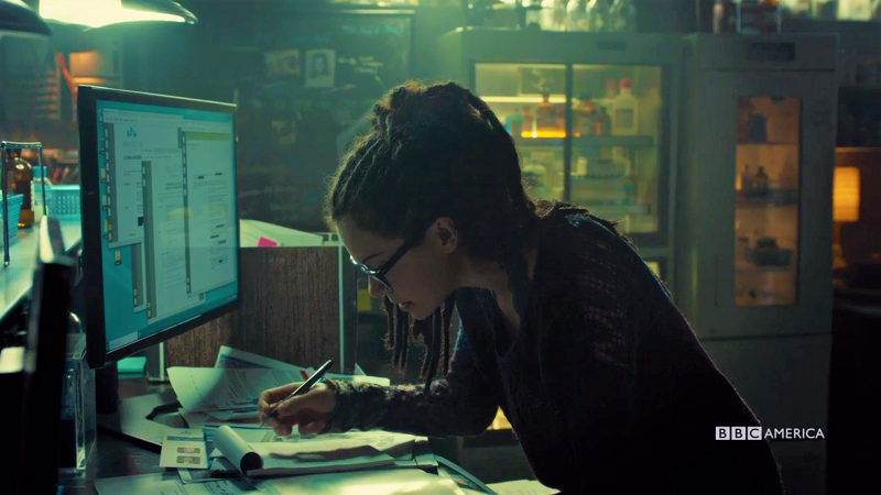 Cosima is doing science