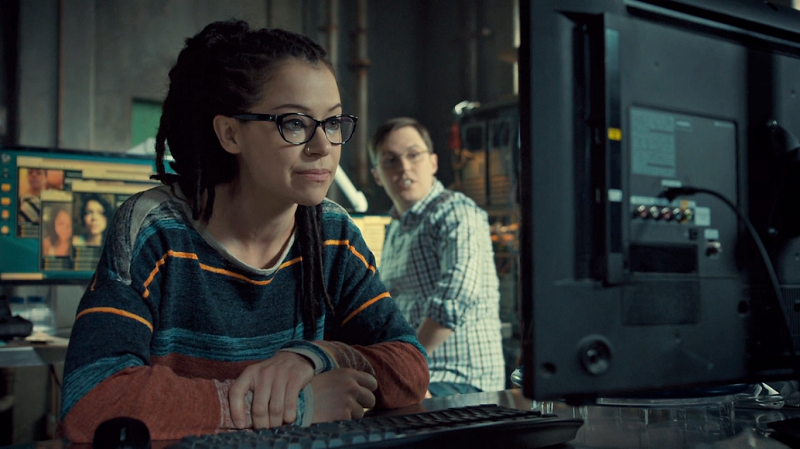 Cosima and Scott skype with Sarah
