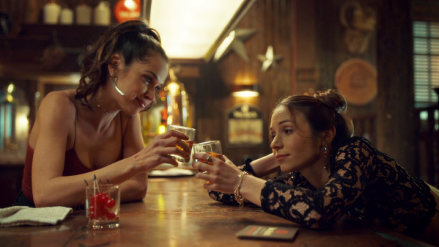 Rosita and Waverly toast
