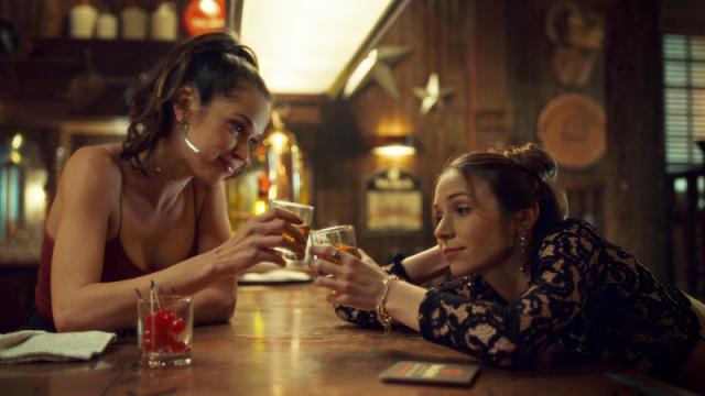 Rosita and Waverly toast