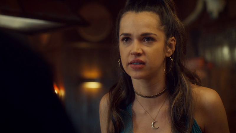 Rosita is upset Wynonna doesn't trust her anymore