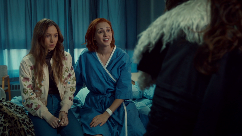 Nicole is happy and alive, Waverly looks guilty