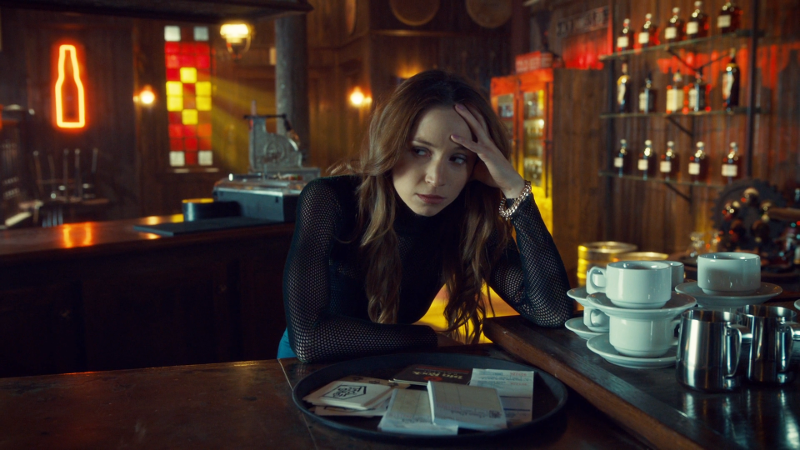 Waverly is pouting in Shorty's