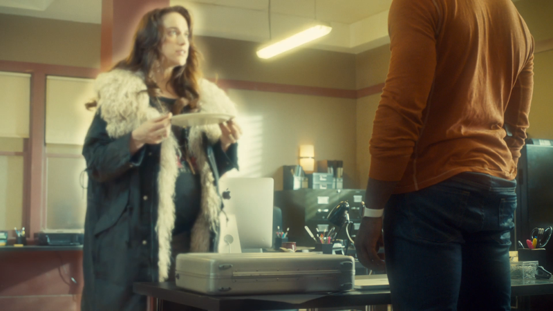 Wynonna is glowing as she disappears