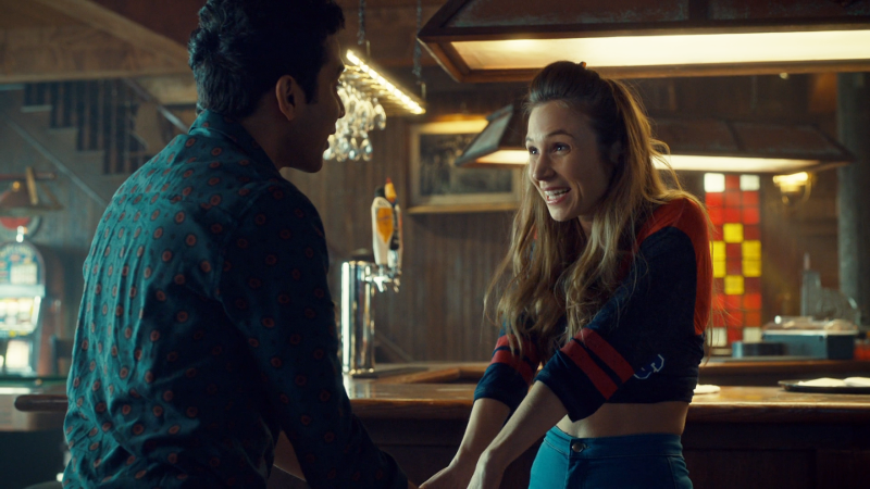 Waverly is excited and in her pilot episode Shorty's look