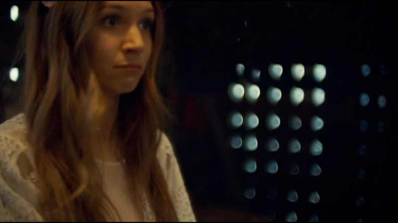 """Waverly makes a really cute """"did i really just do that"""" face"""