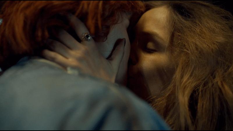 Waverly and Nicole kiss again